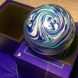 Hand Blown Glass Wavelengths of Colour